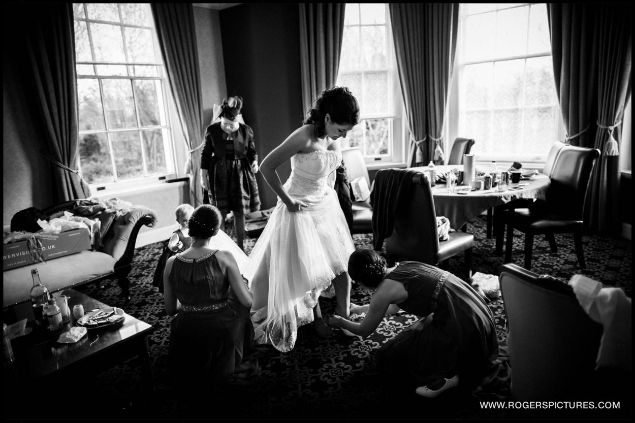 Burnham Beeches Hotel wedding photographer