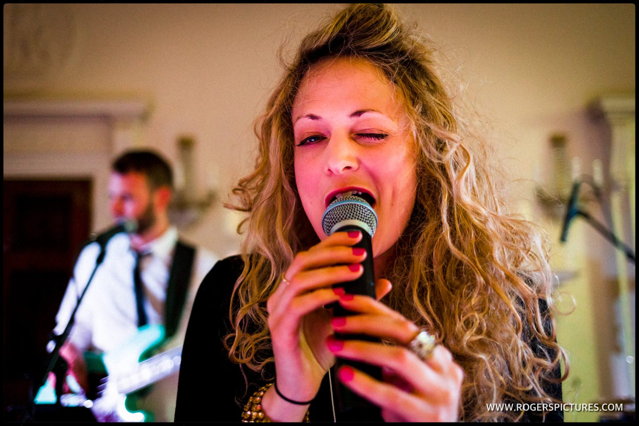 Soul treasures band played at Buxted Park wedding
