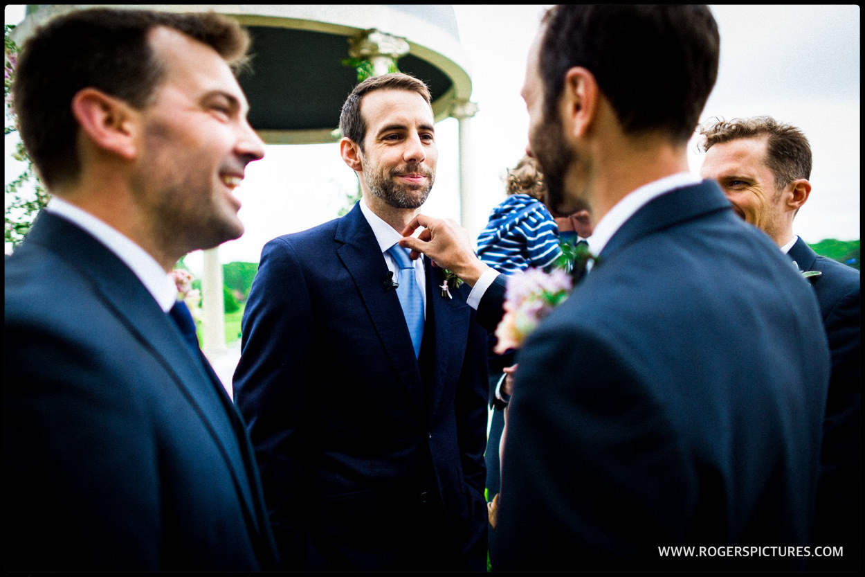 Documentary photography at a wedding in Hampshire