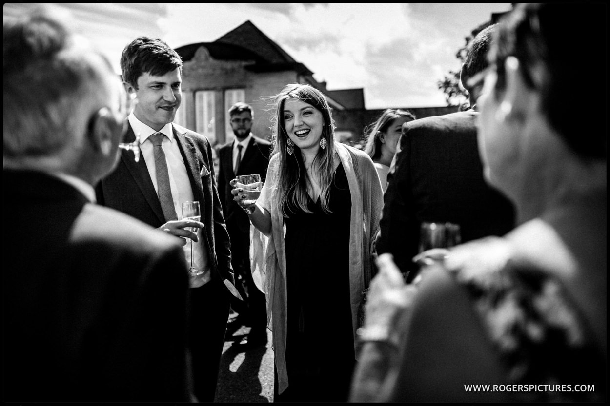 Documentary wedding photography at Hampshire wedding