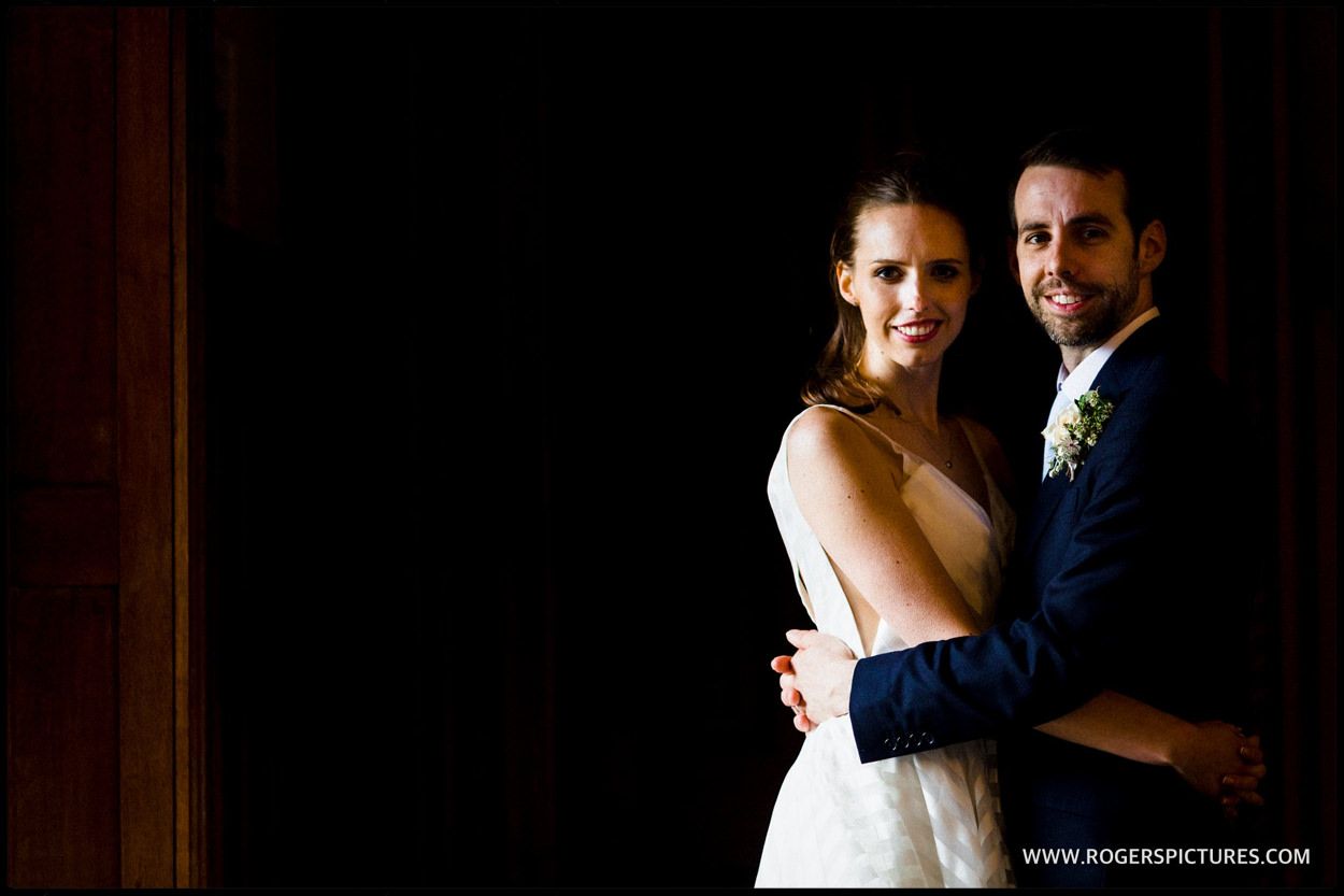 Hampshire wedding portrait