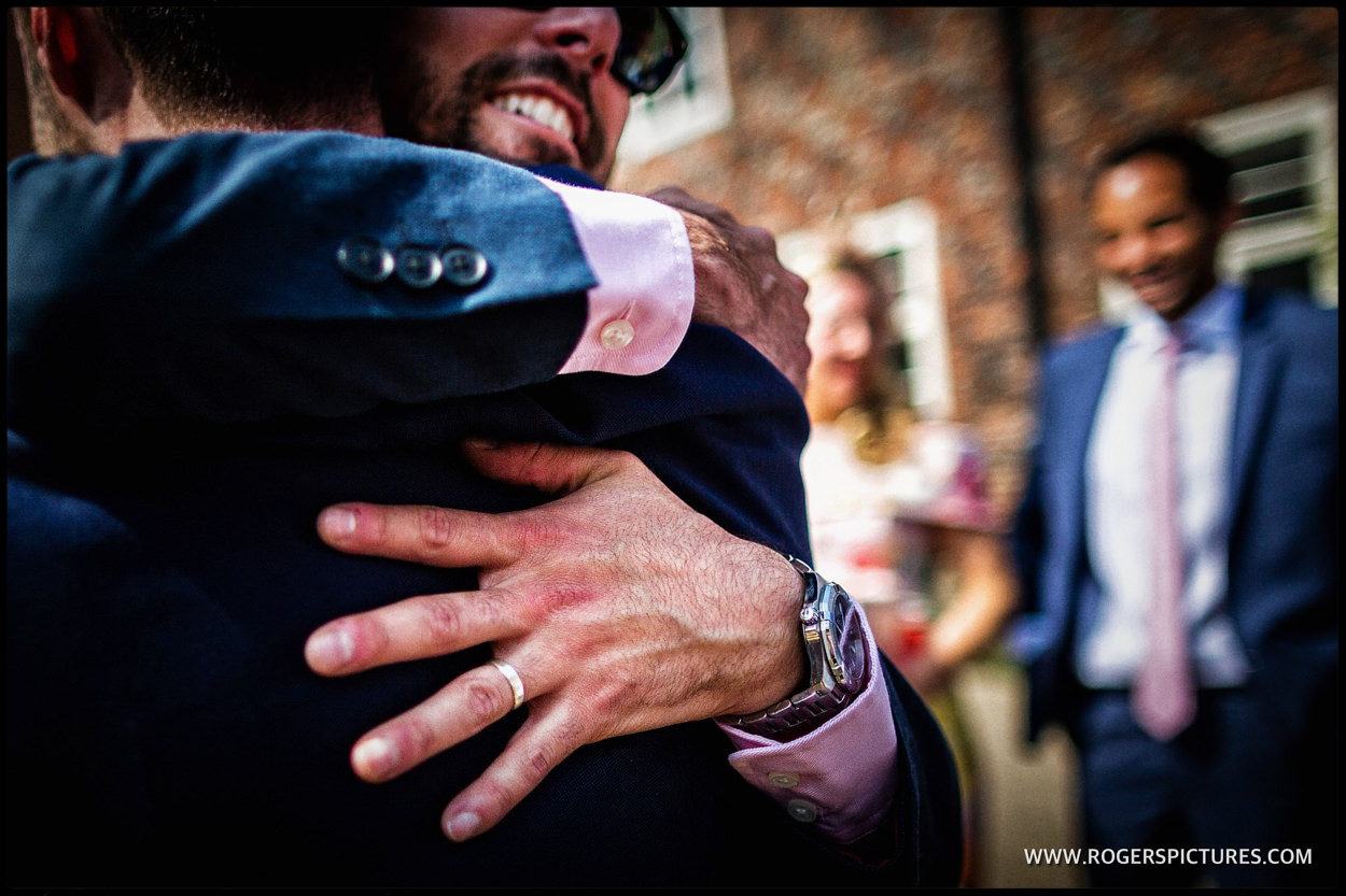Hugs for the happy Couple