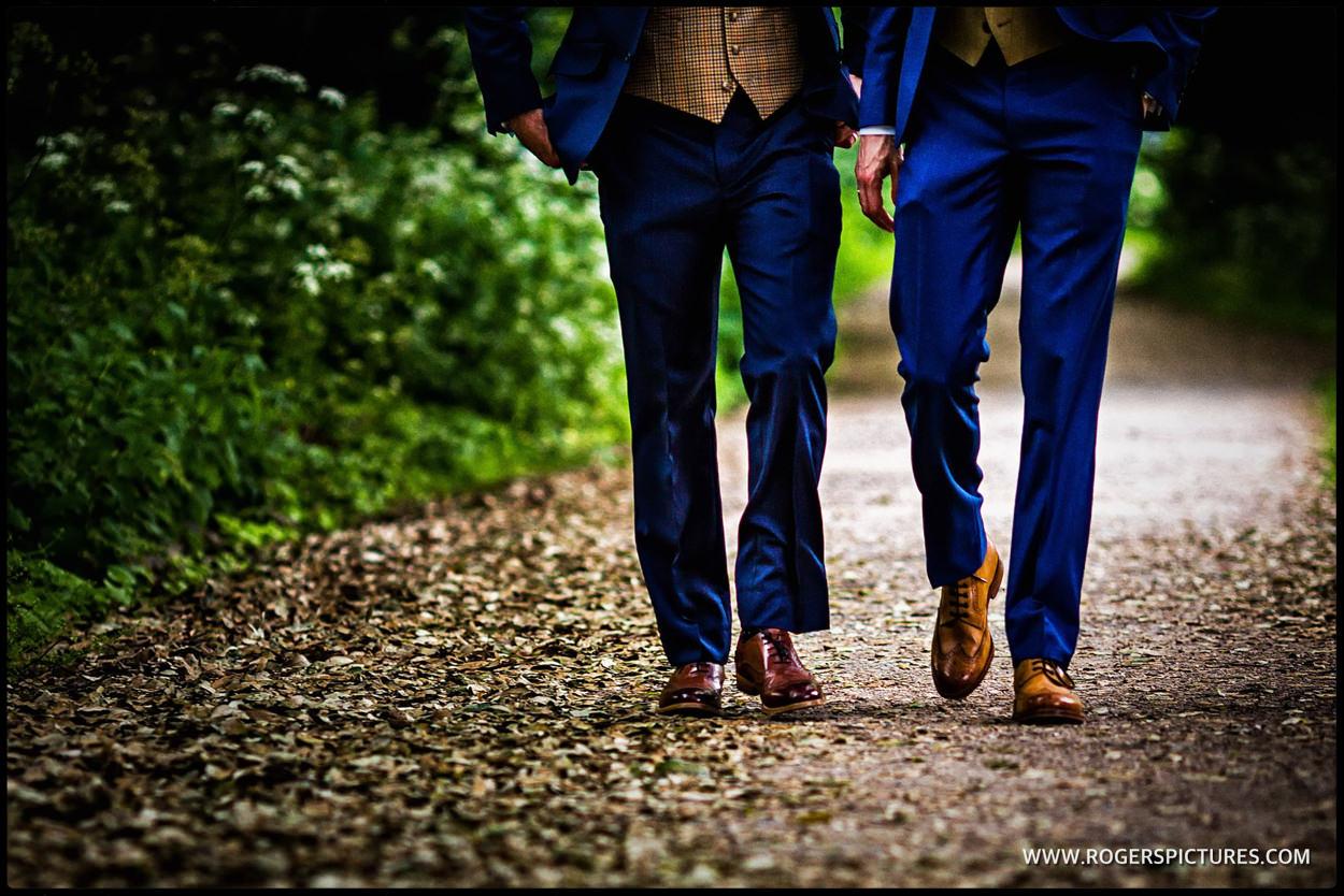 Documentary wedding photography at a gay wedding