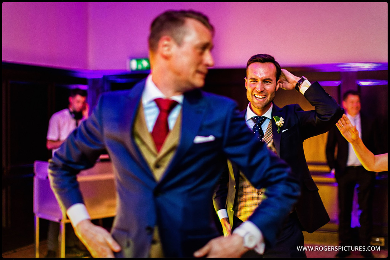 First dance at Fulham Palace same-sex wedding