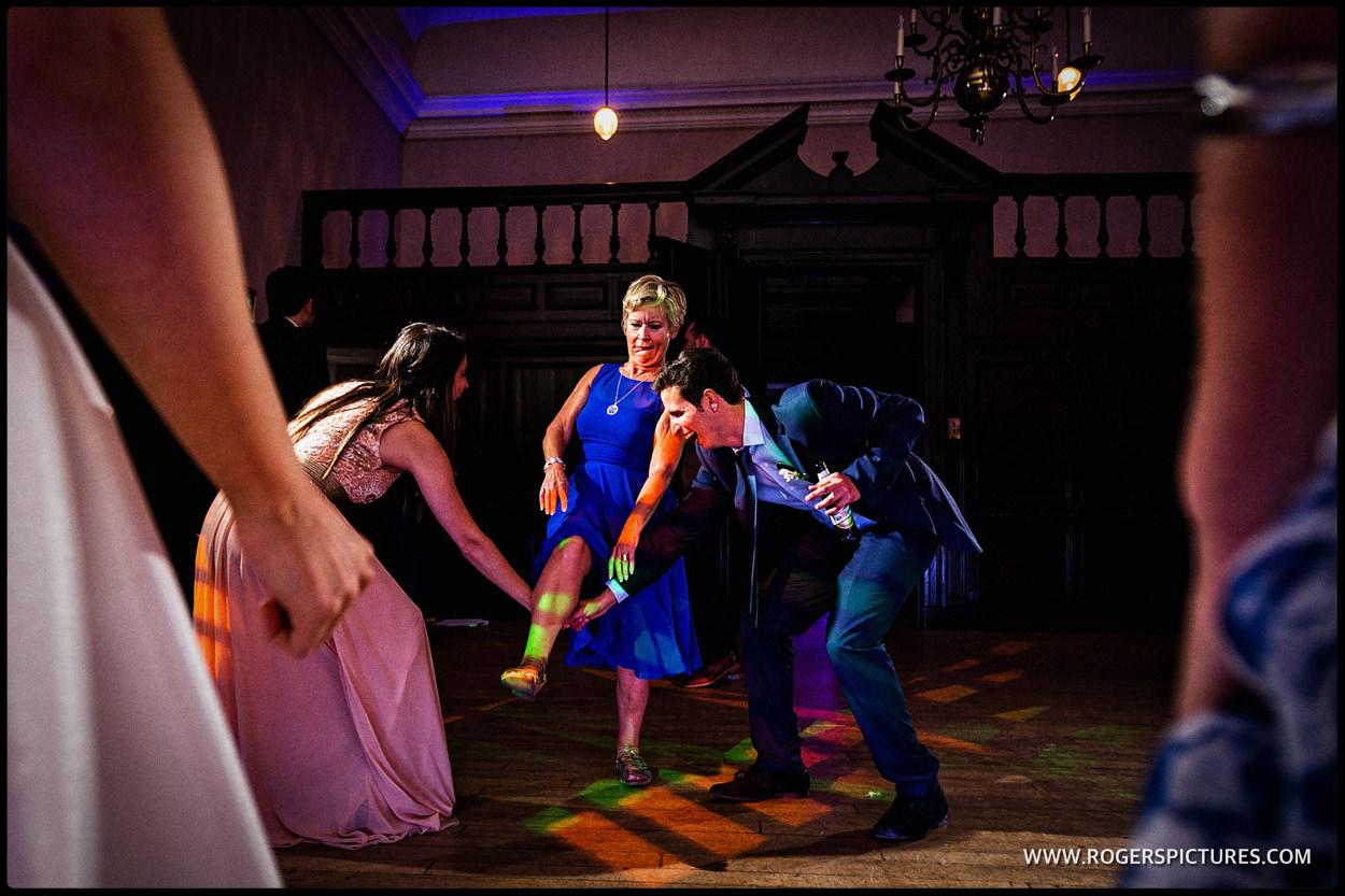 Dancefloor action at Fulham