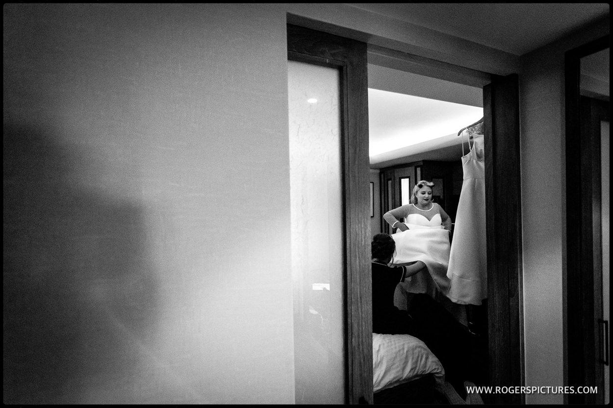 Connaught Hotel wedding preparation