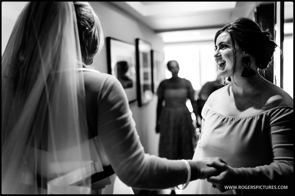 Connaught Hotel wedding bridal prep