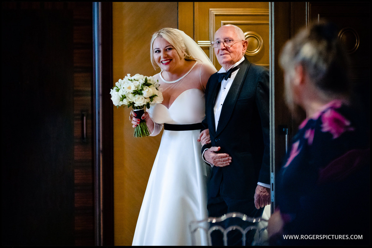Connaught Hotel wedding pic