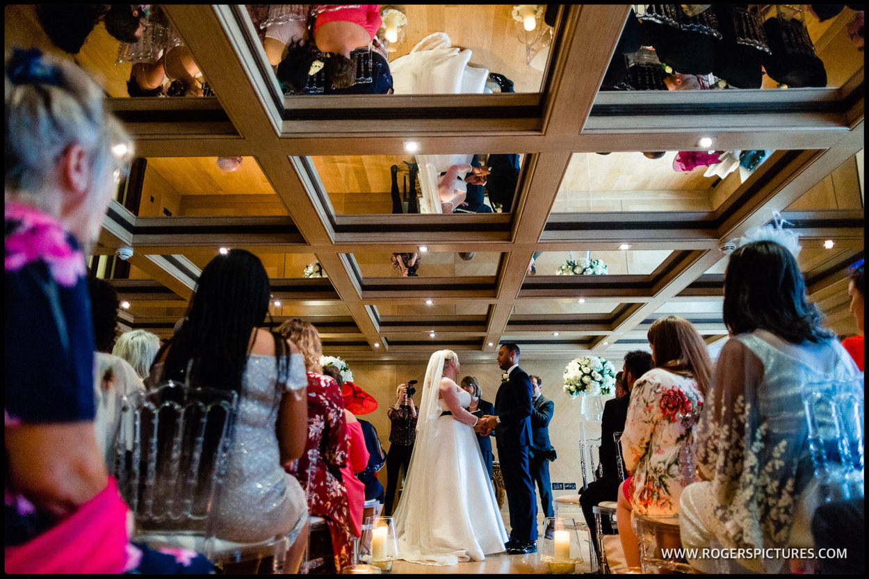 Connaught Hotel wedding ceremony
