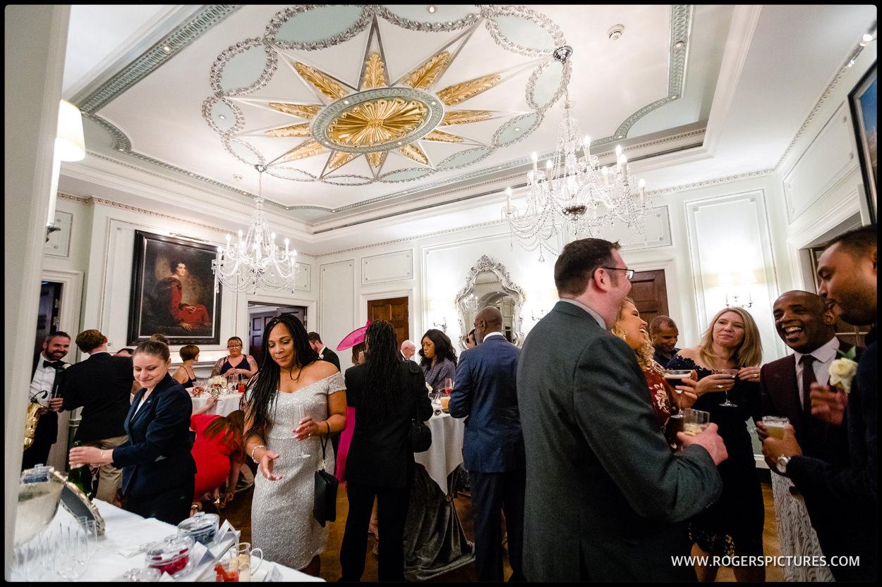 Connaught Hotel wedding reception