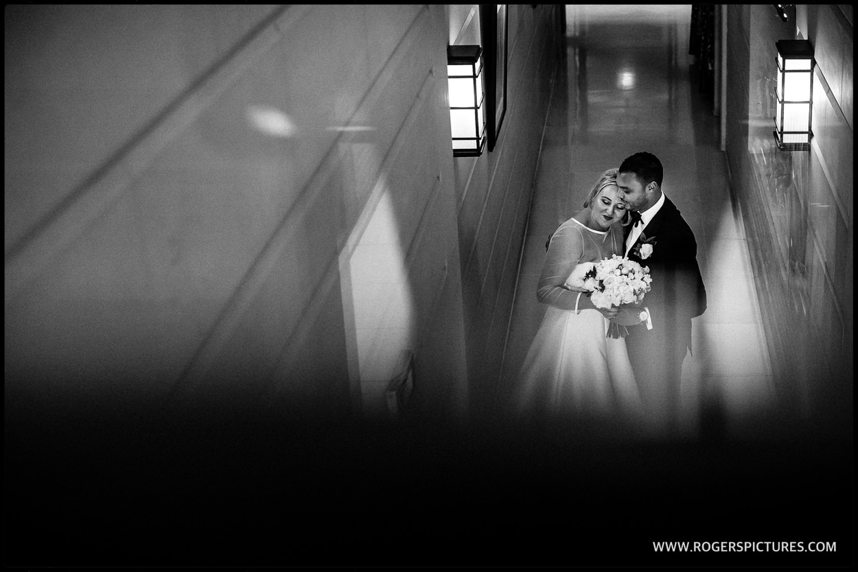 Connaught Hotel wedding portrait