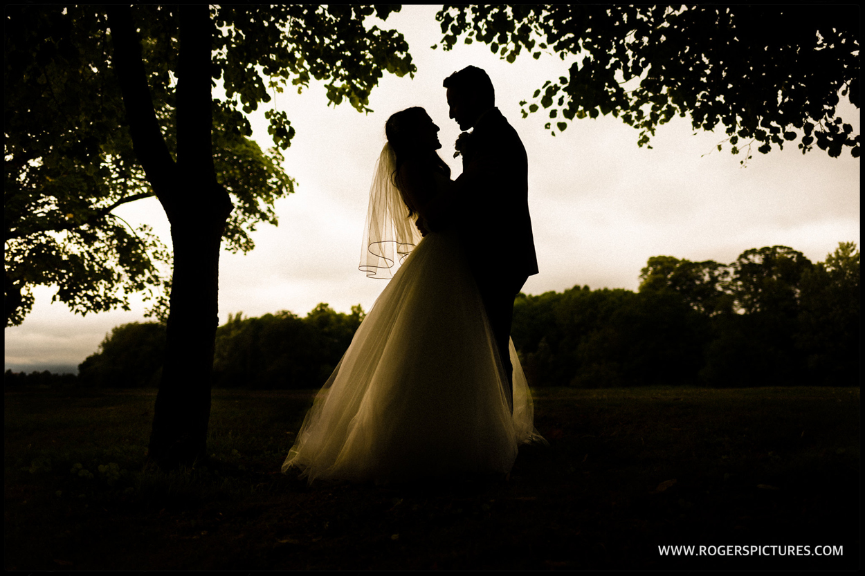 Luton Hoo wedding photos of bride and groom