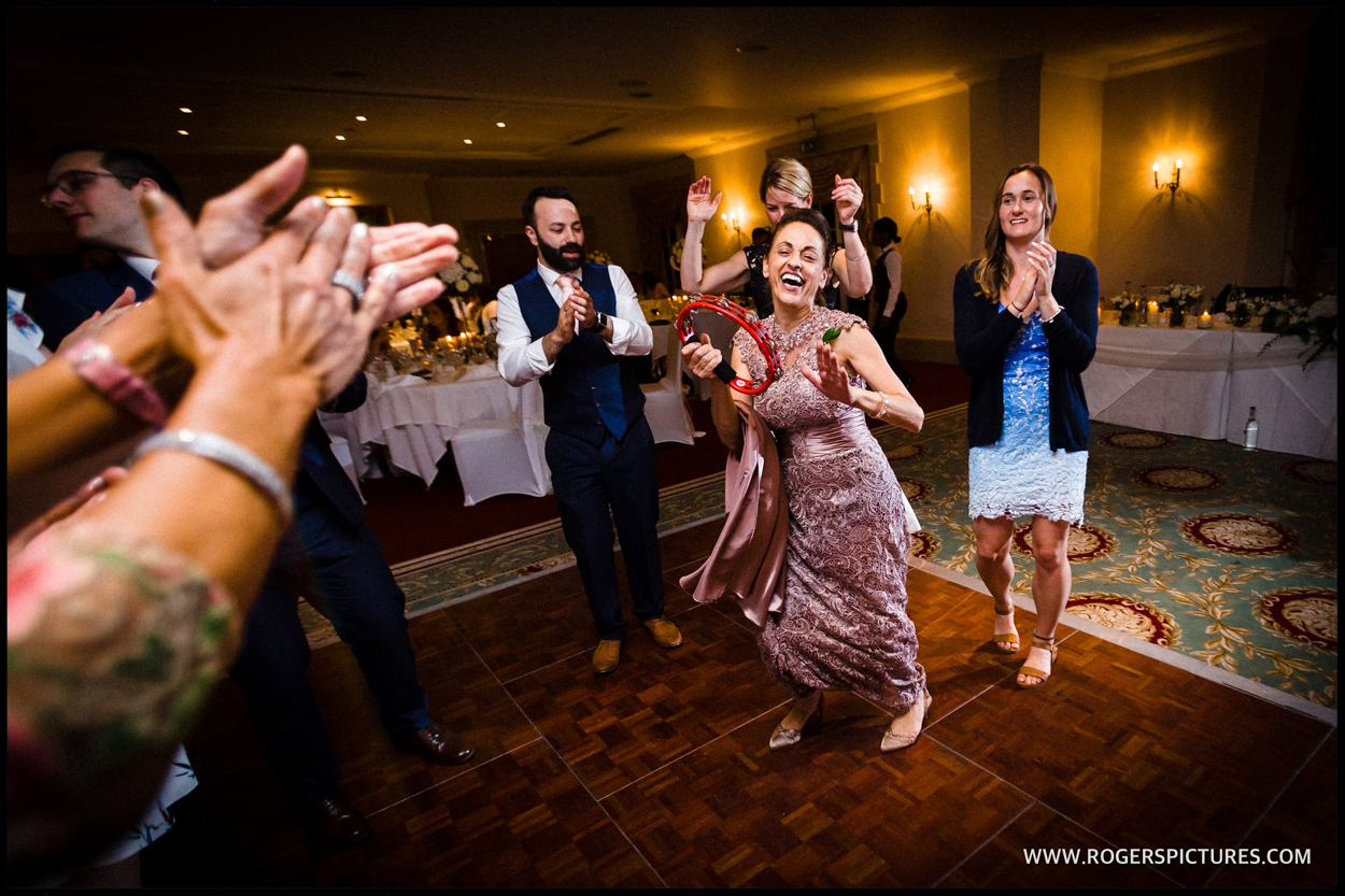 Luton Hoo Greek wedding dancing