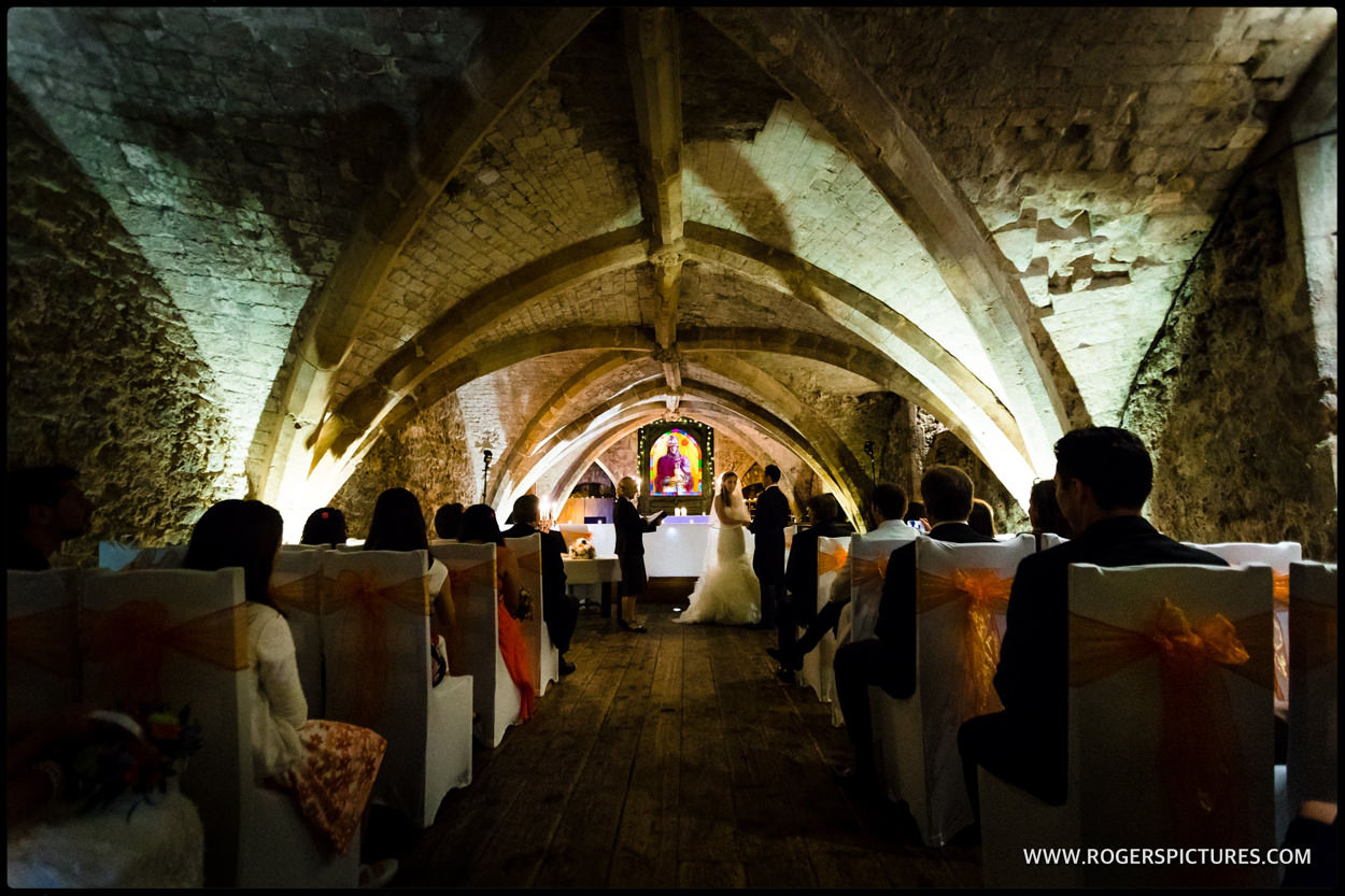 Marriage at The George Vaults