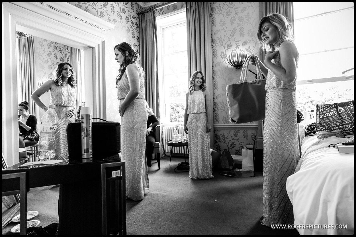 Bridesmaids at Morden Hall