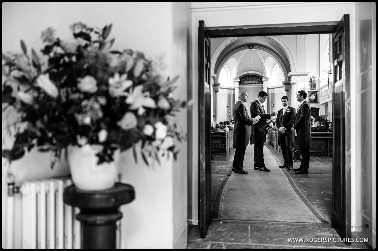 St Anne's church Wandsworth wedding