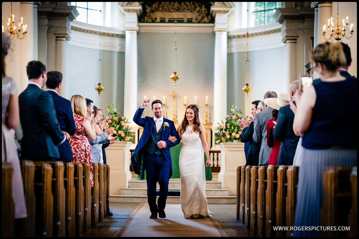 St Anne's church Wandsworth wedding photo