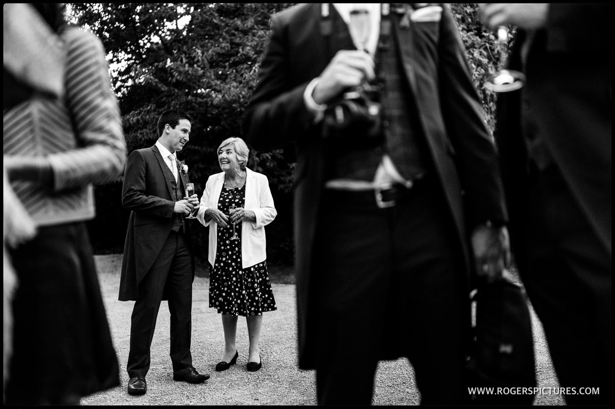 Documentary wedding photography at Morden Hall in London
