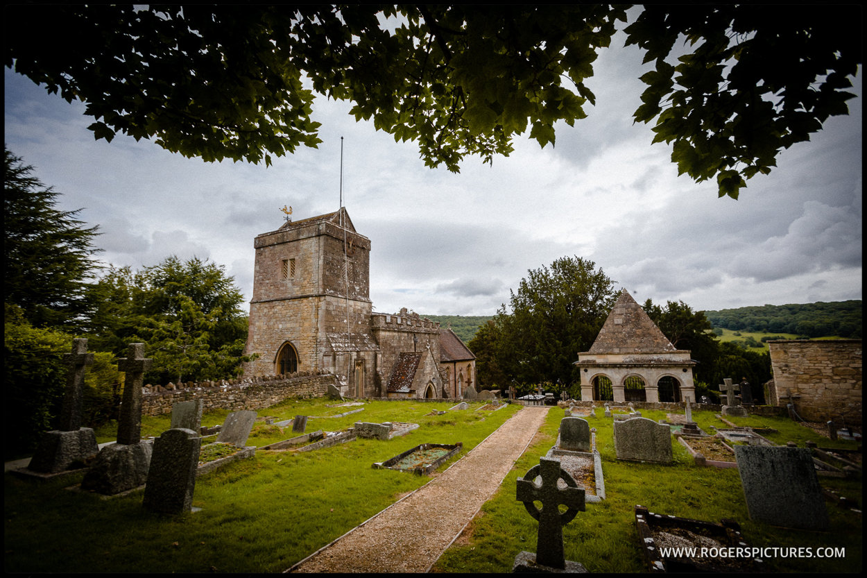 St Mary's Church Claverton wedding in Somerset