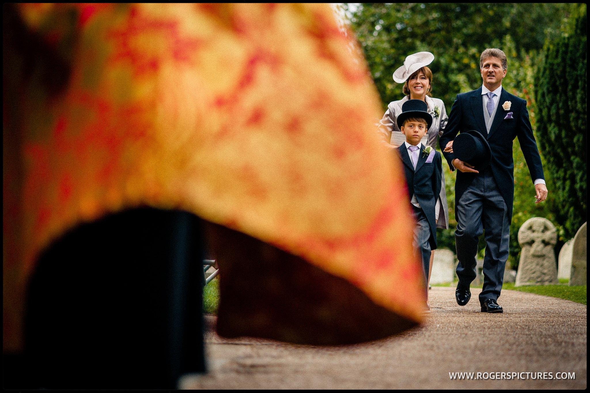 St Albans Abbey wedding arrival