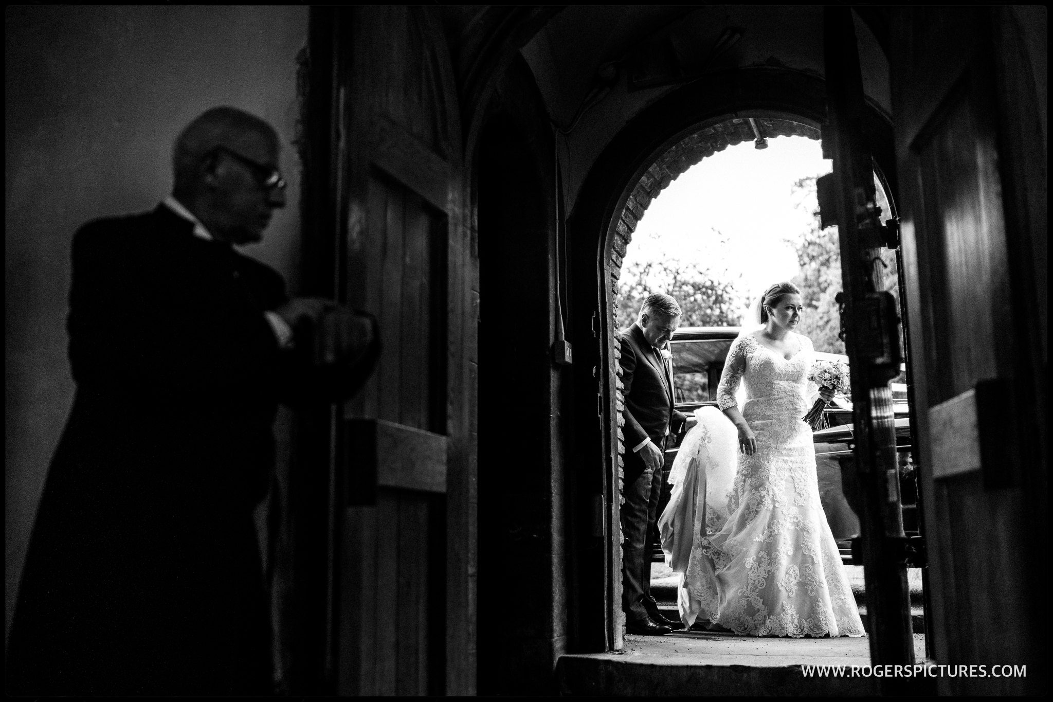 St Albans Abbey wedding photograph