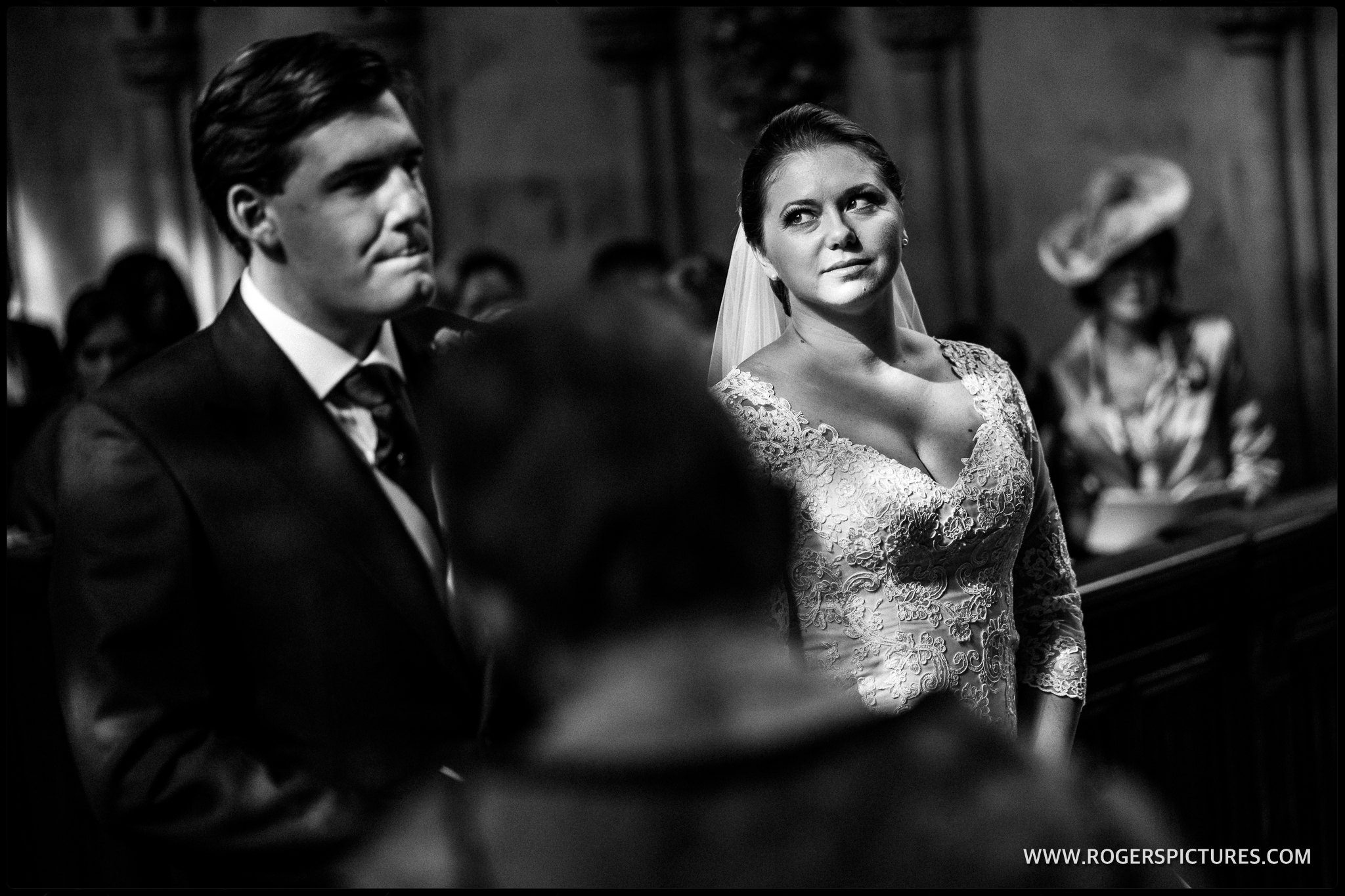 Lady Chapel St Albans Abbey wedding ceremony