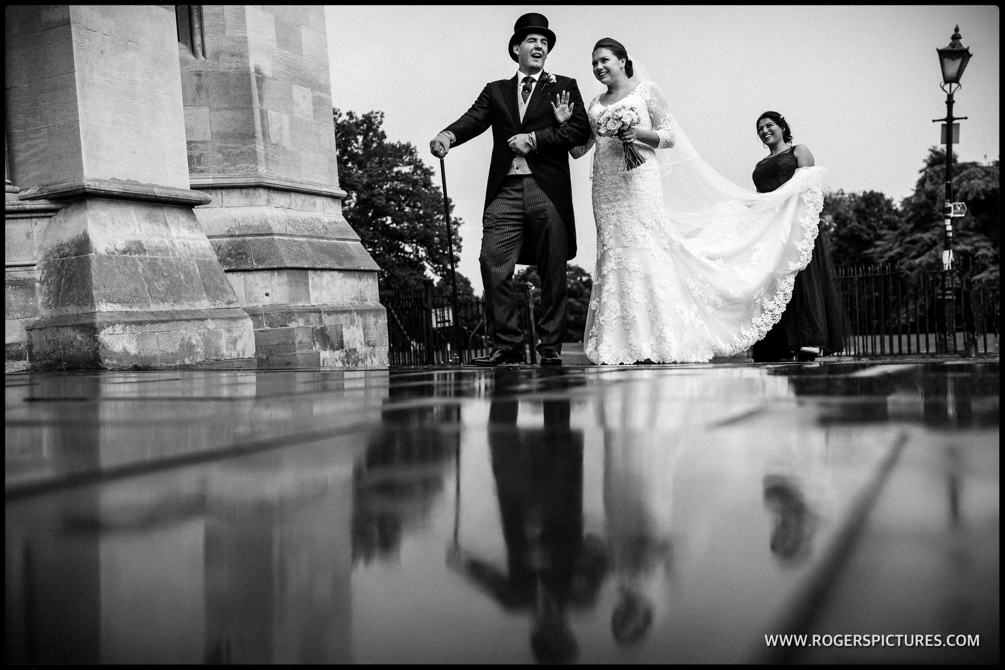 St Albans wet wedding