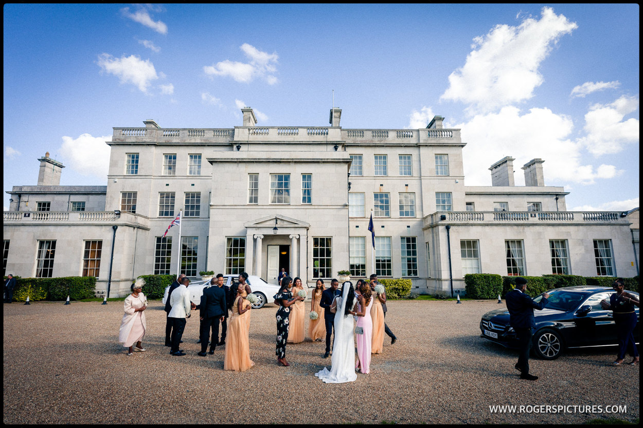 Surrey country wedding at Addington