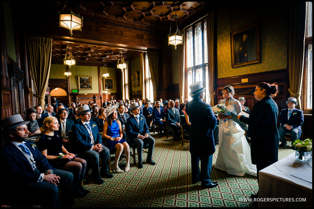 House of Commons wedding ceremony