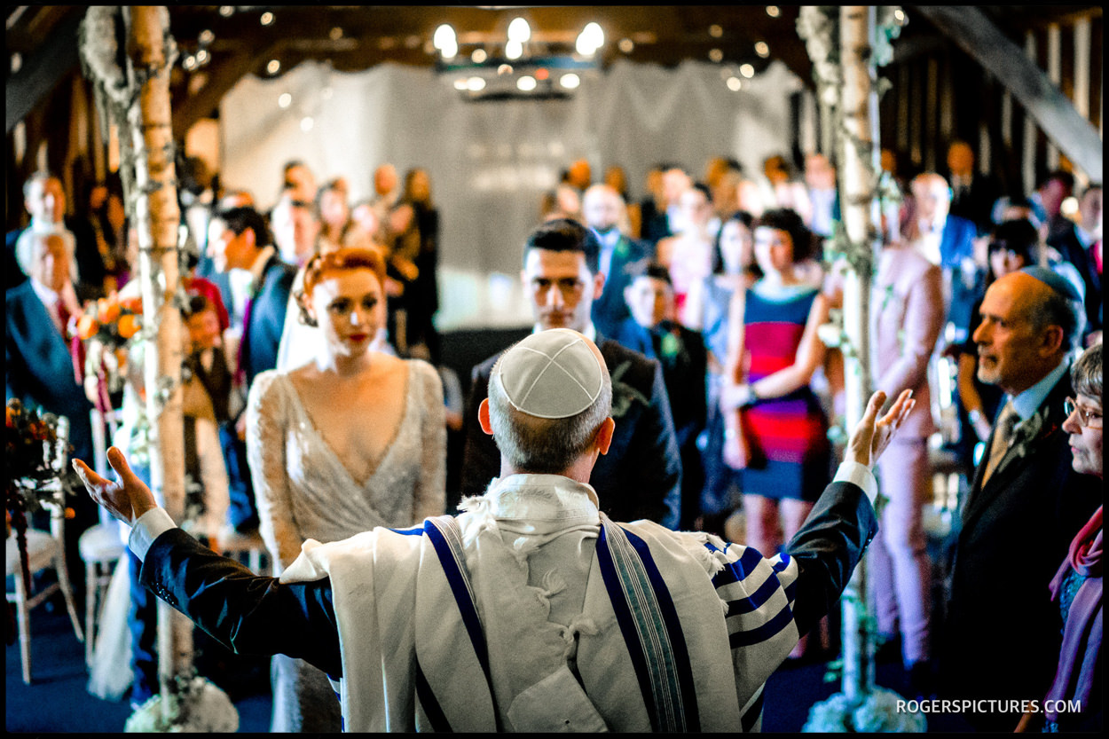 Jewish wedding ceremony at Essendon Country Club wedding