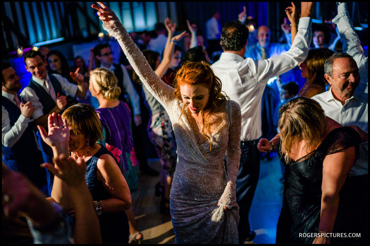 Essendon Country Club wedding reception dancing