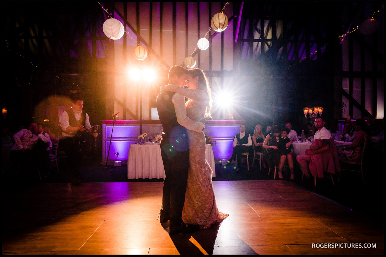First dance at Essendon Country Club wedding