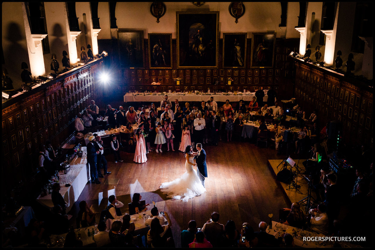First Dance in the Hall at Middle Temple