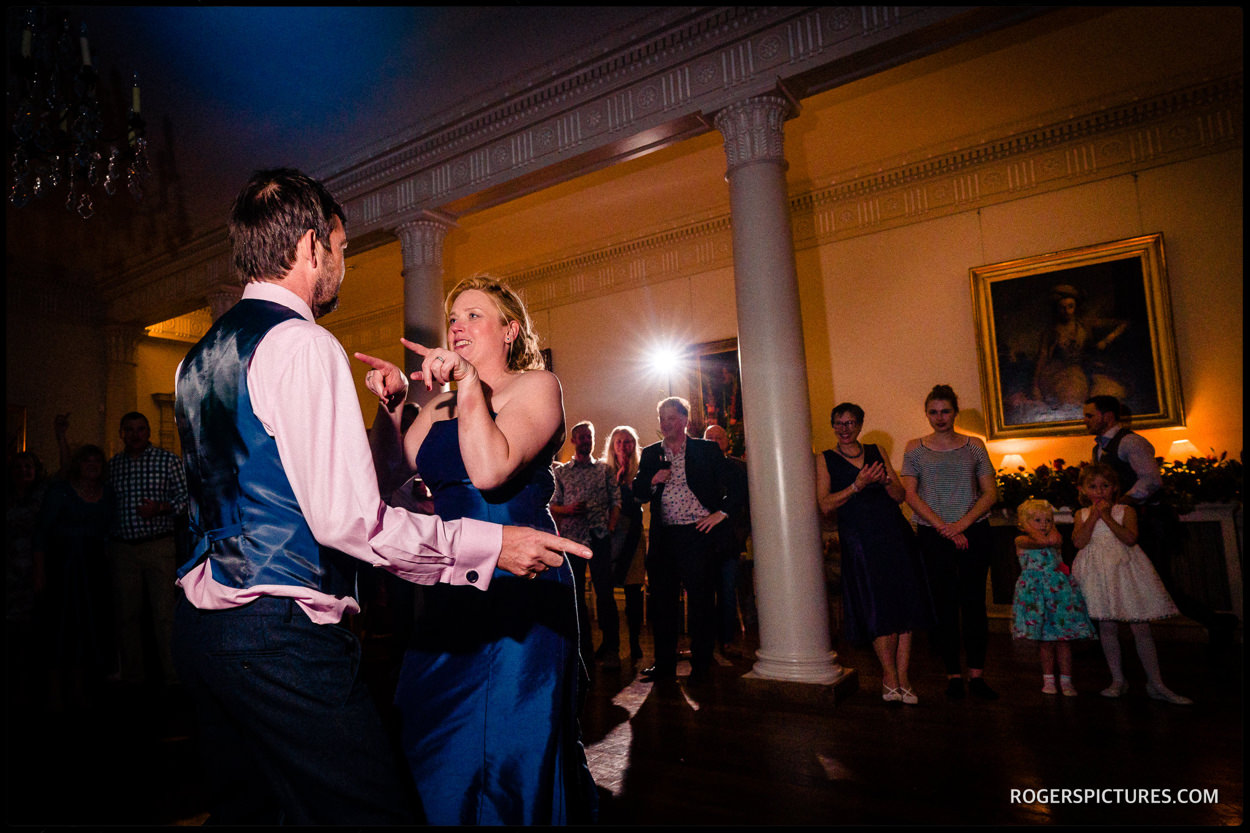 First dance at North Cadbury Court wedding