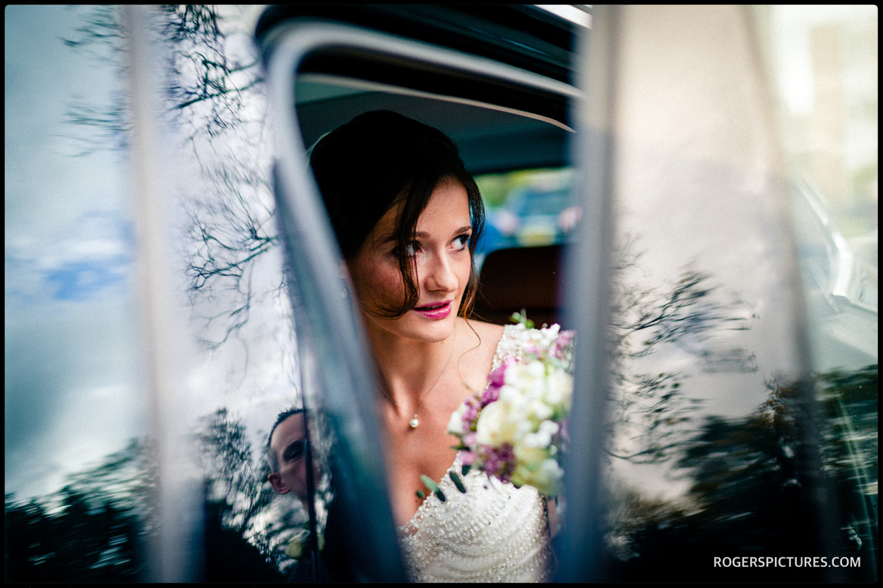 Bride in Nottingham
