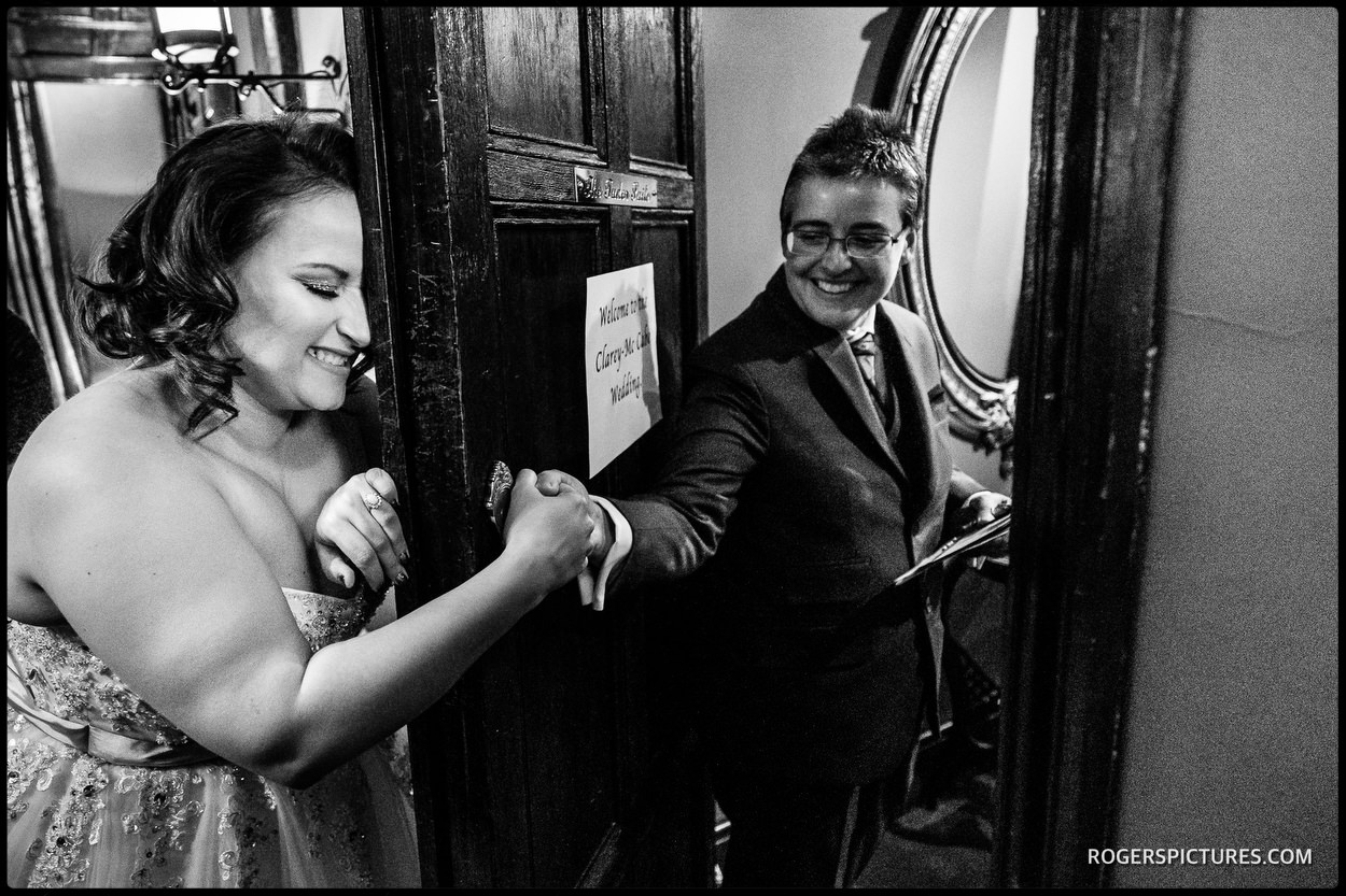 Wedding at Chelsea Town Hall