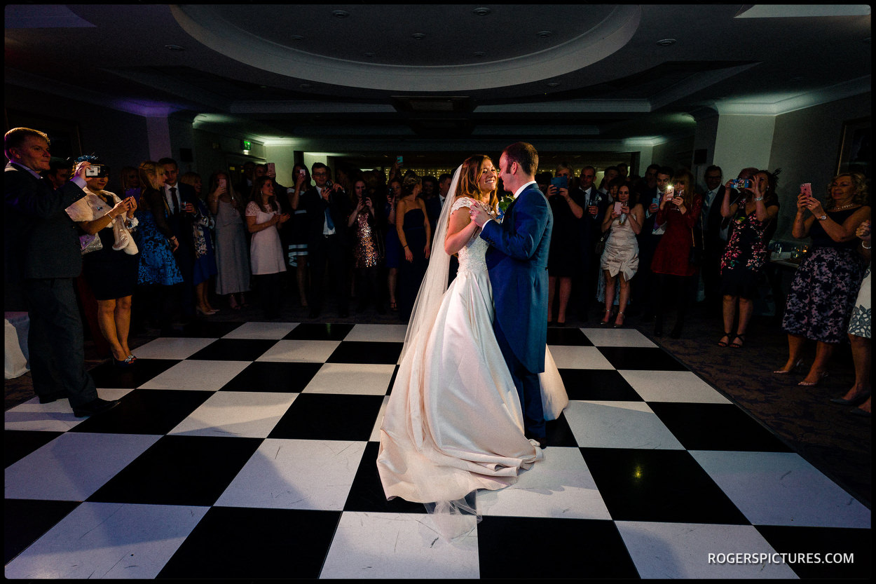 Oakley Court Windsor wedding First dance