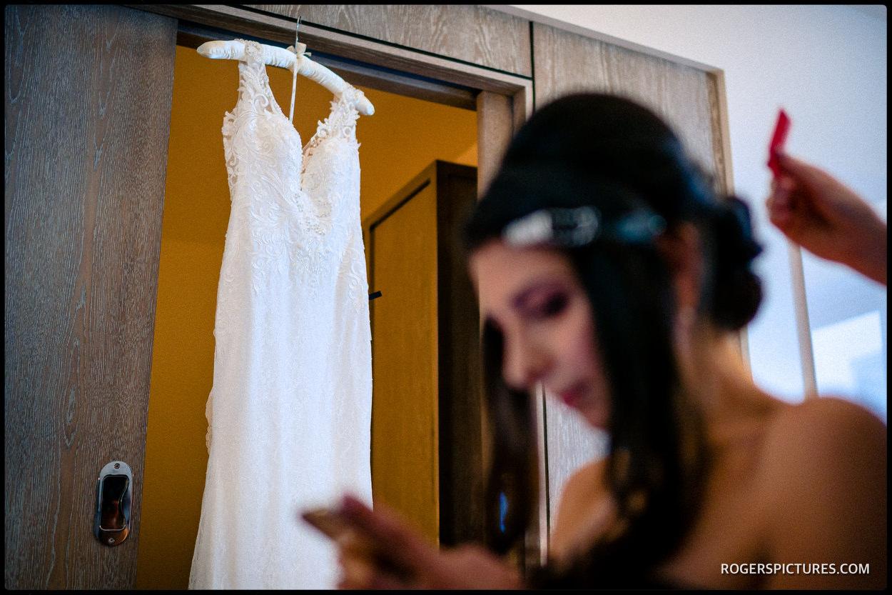 North London wedding dress