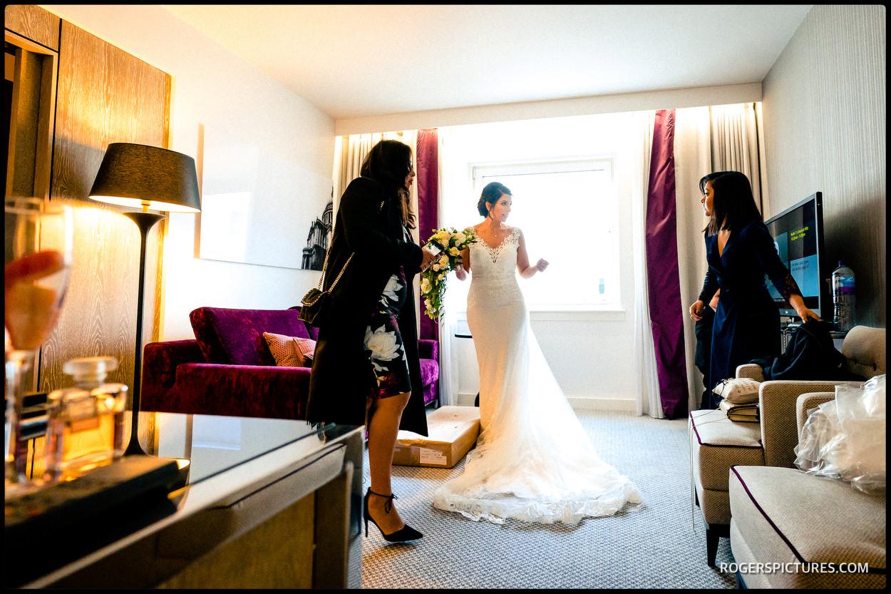 Dando London wedding dress