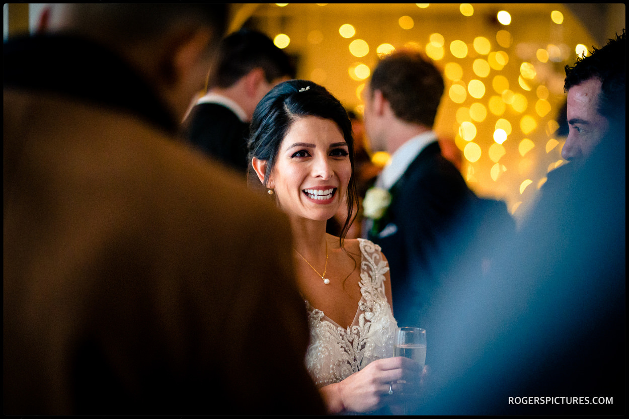 Bride at a North London wedding