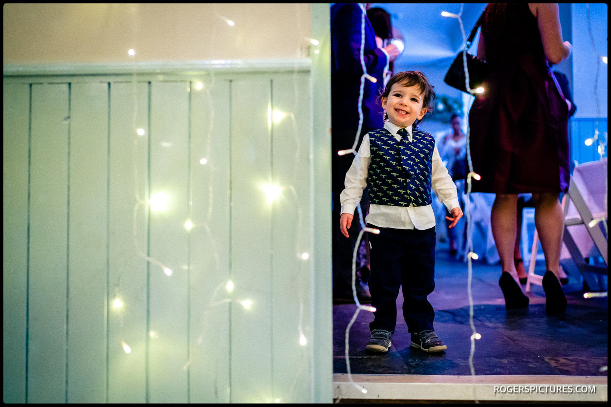 Documentary photography at a North London wedding