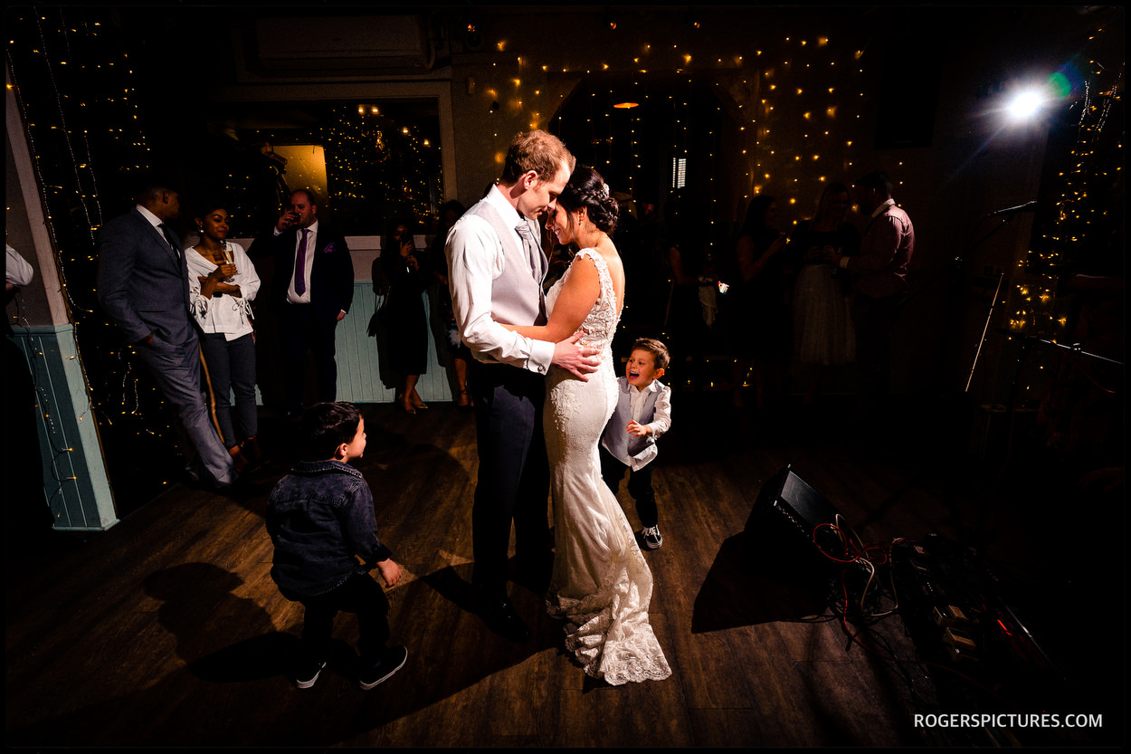 North London wedding first dance