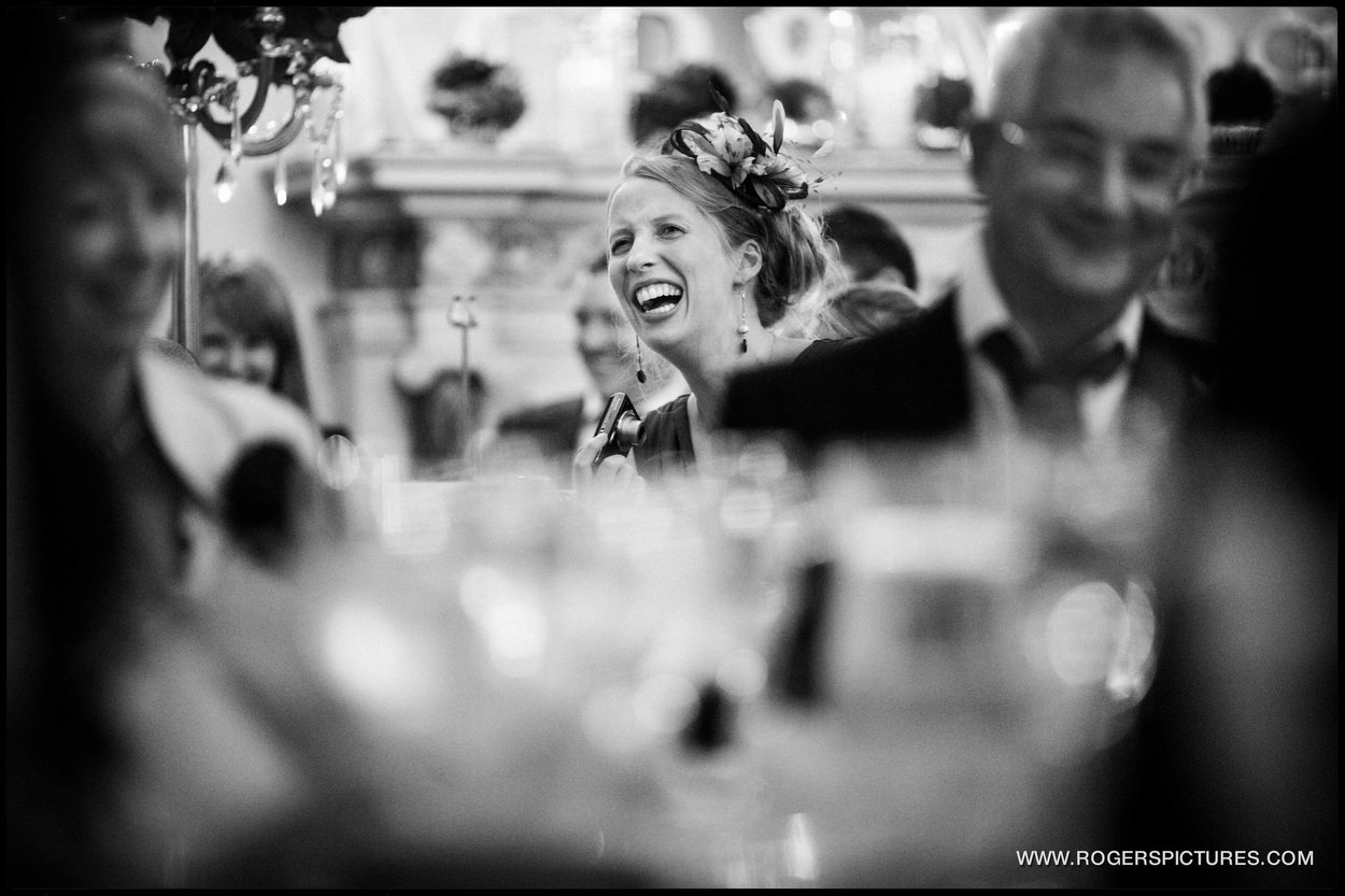 Documentary wedding photography at Buxted Park Hotel