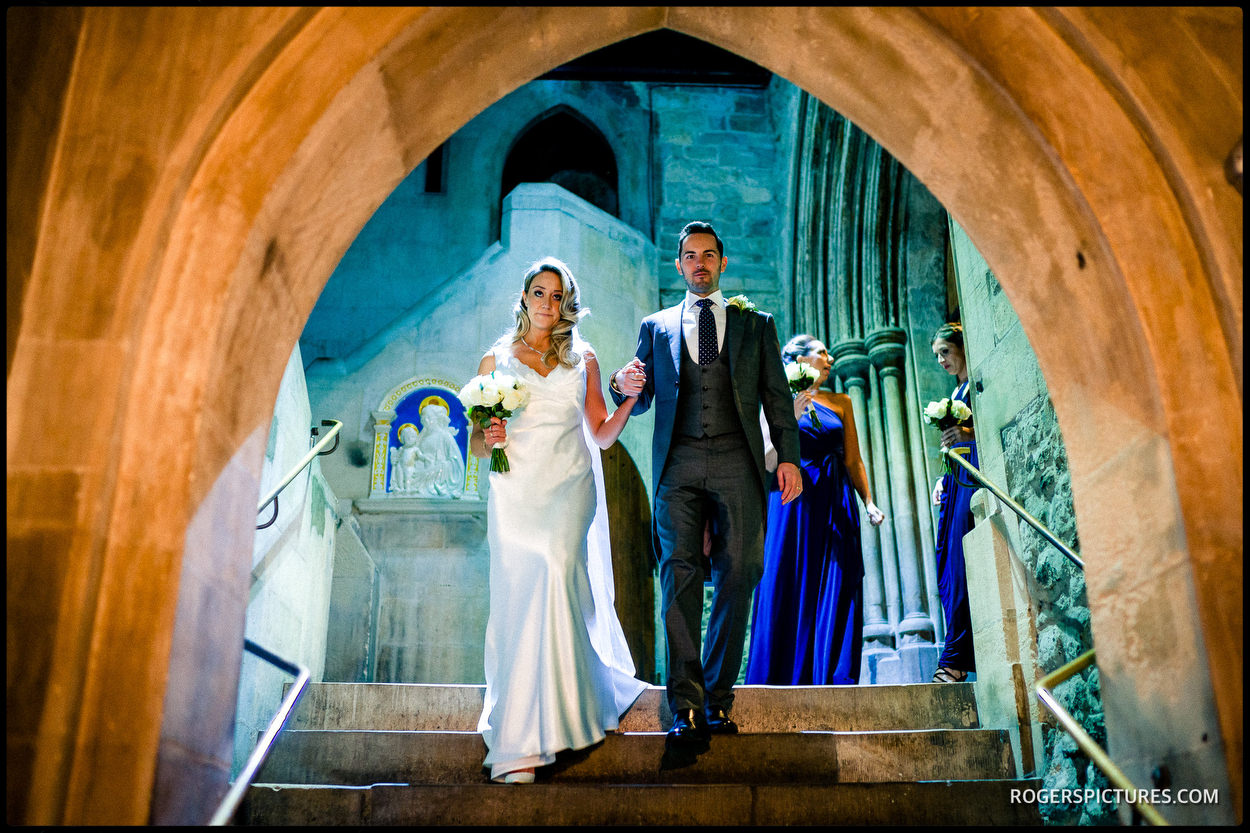 Wedding at The Crypt at Ely Place
