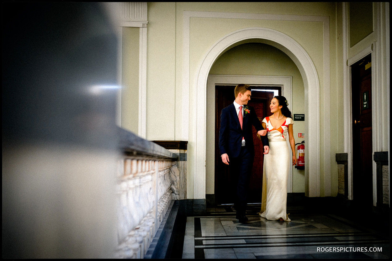 North London Islington Town Hall wedding