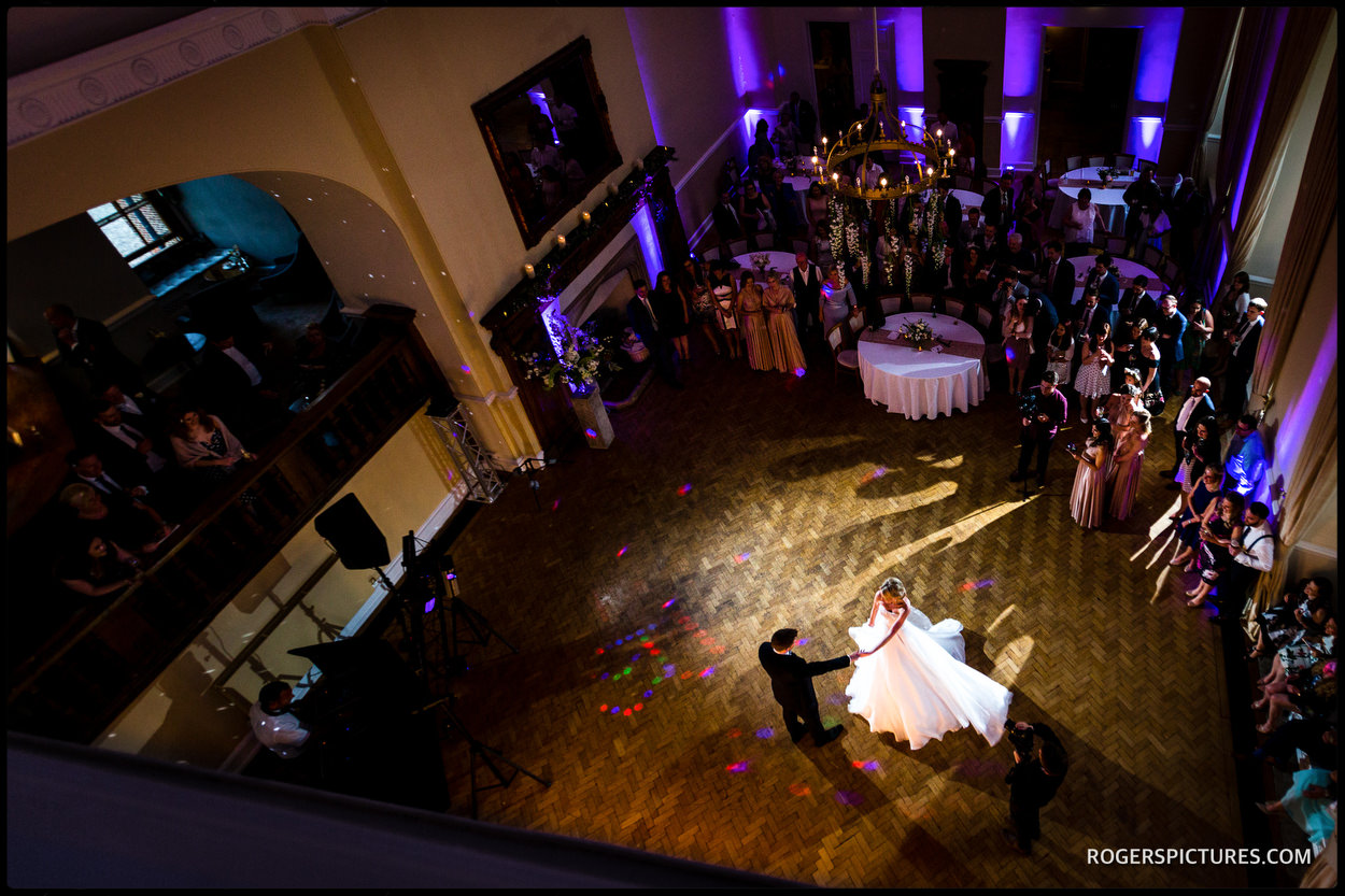 Farnham Castle wedding first dance