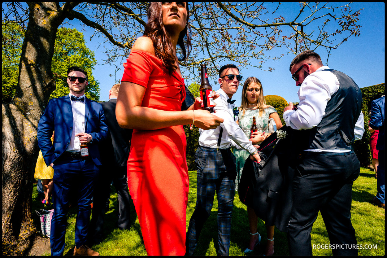 Wedding photojournalism at Hatfield House