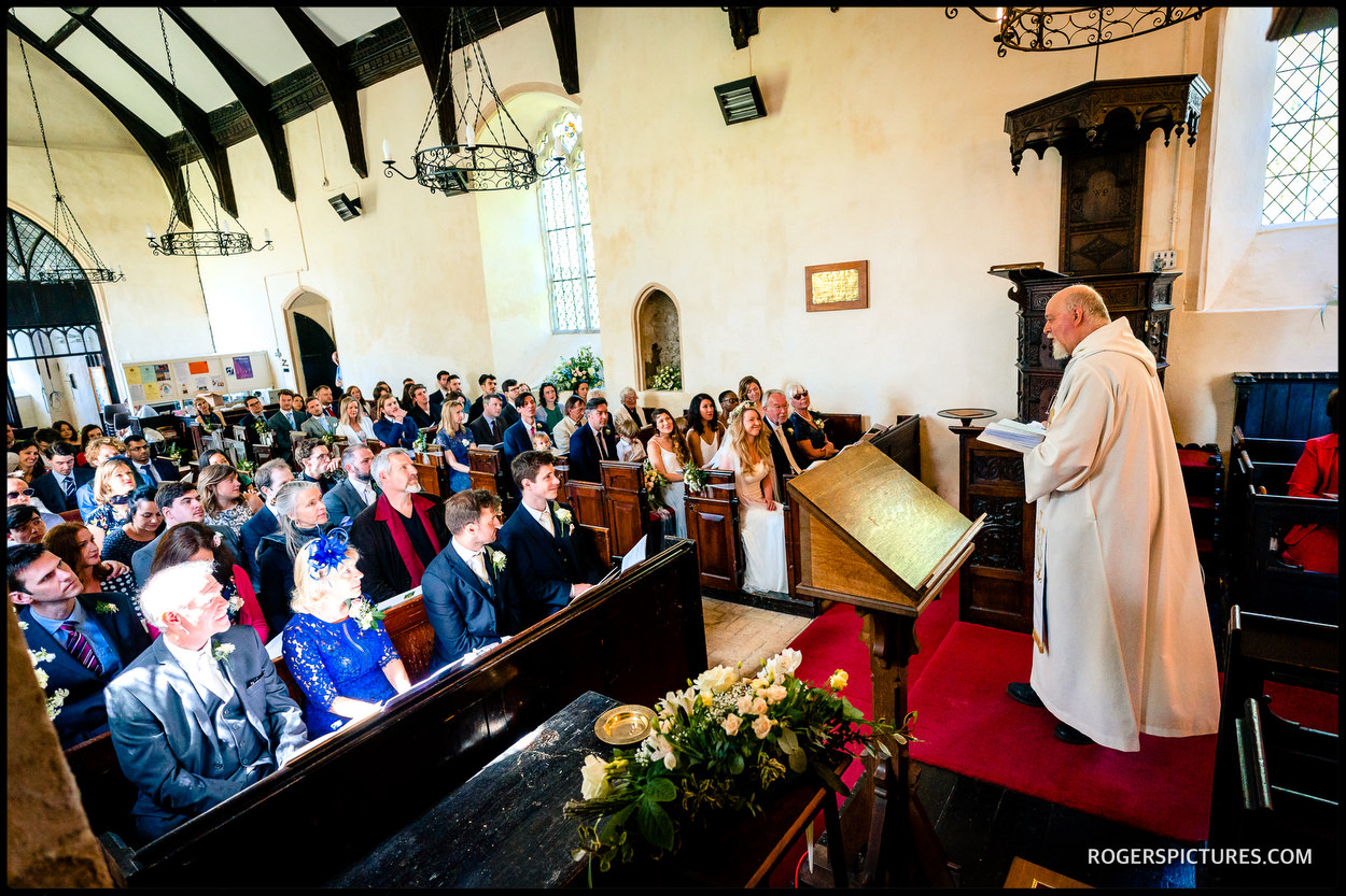 Church marriage in Suffolk
