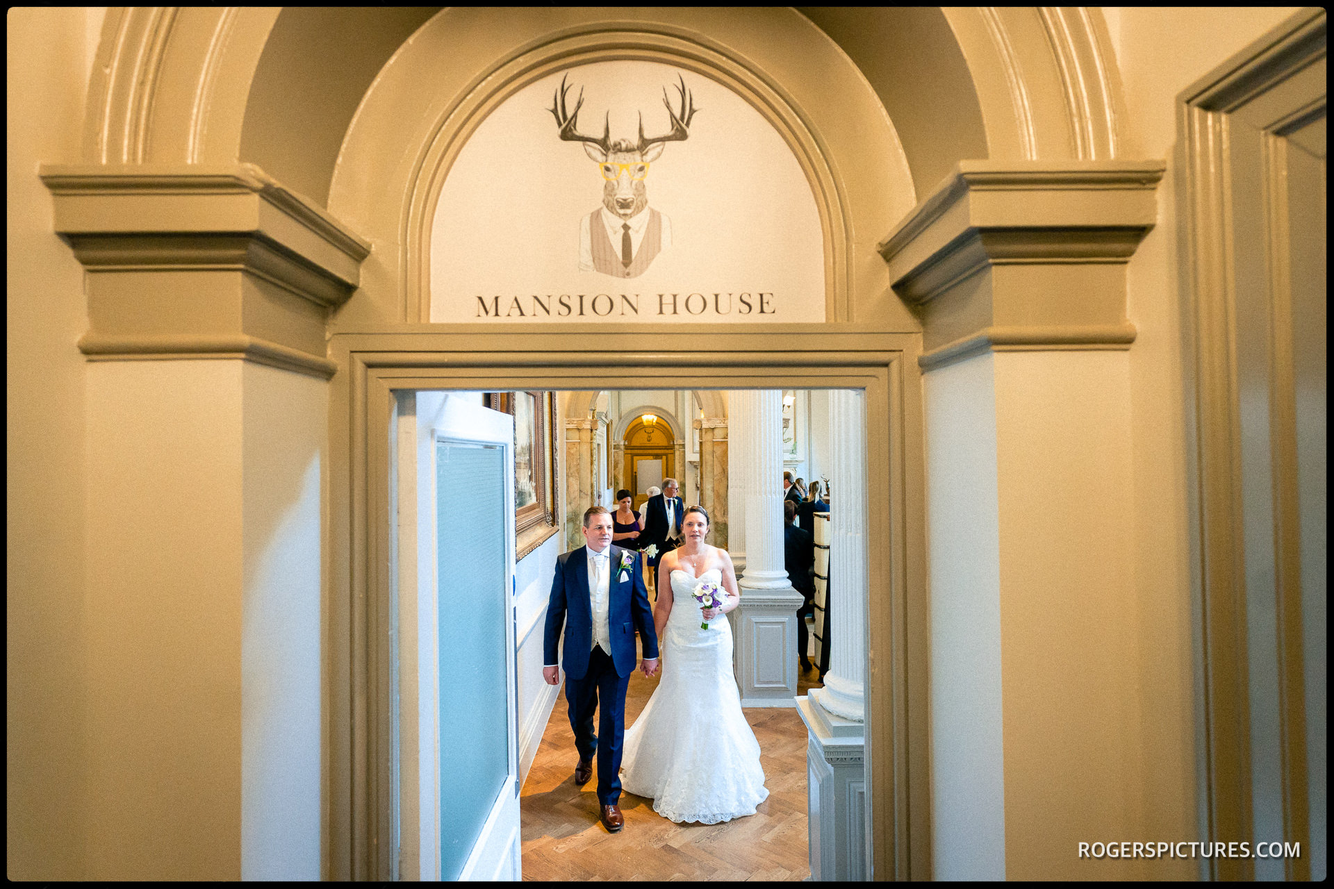 Mansion House at Wokefield Park wedding