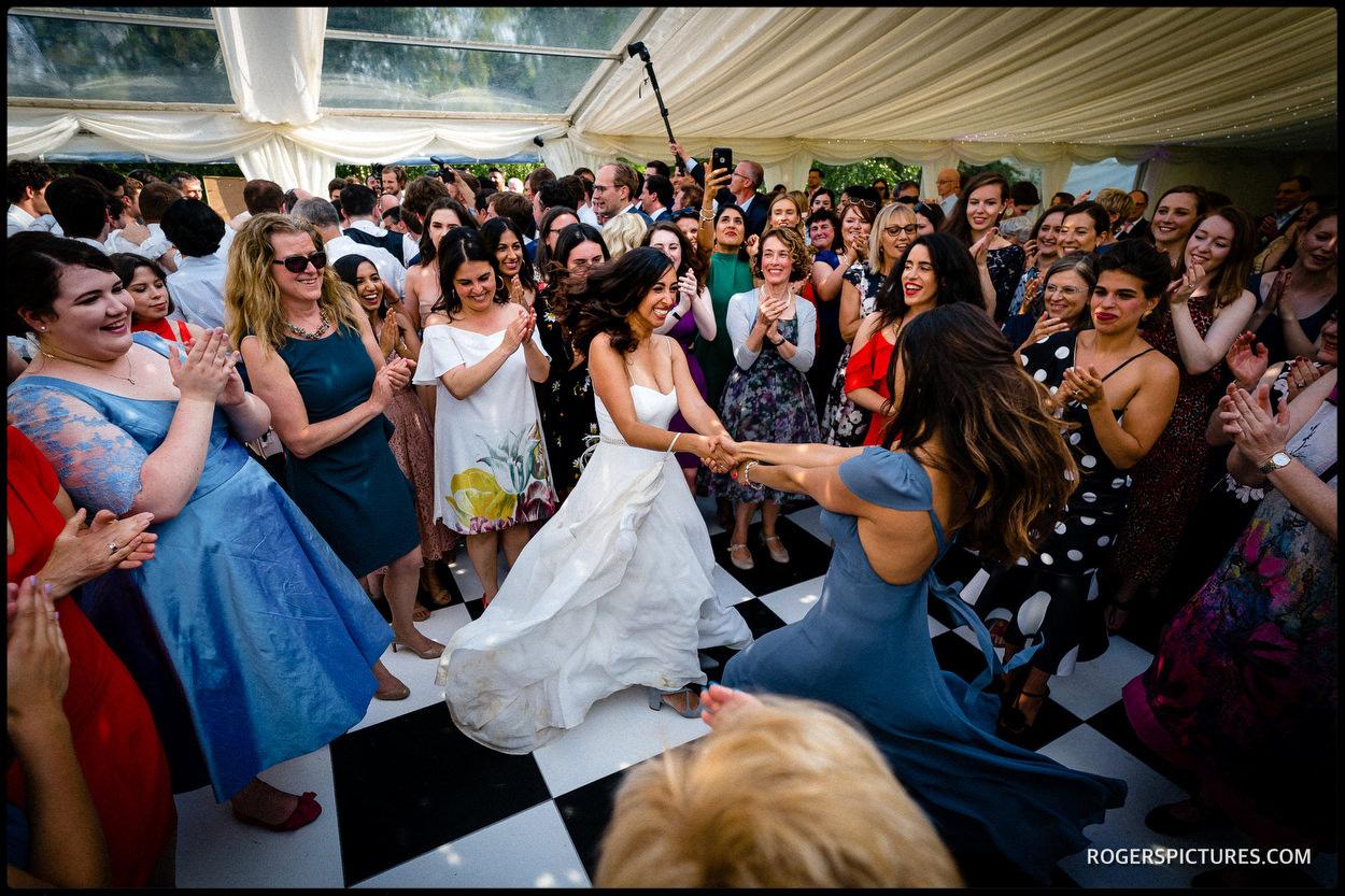 Israeli dancing in Oxfordshire